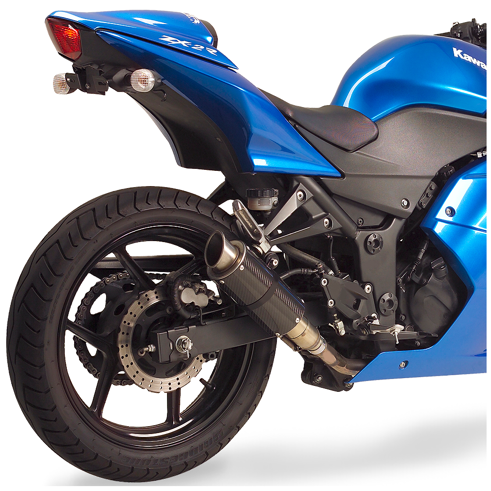 ninja 250r mgp exhaust 2008-15 | hot bodies racing