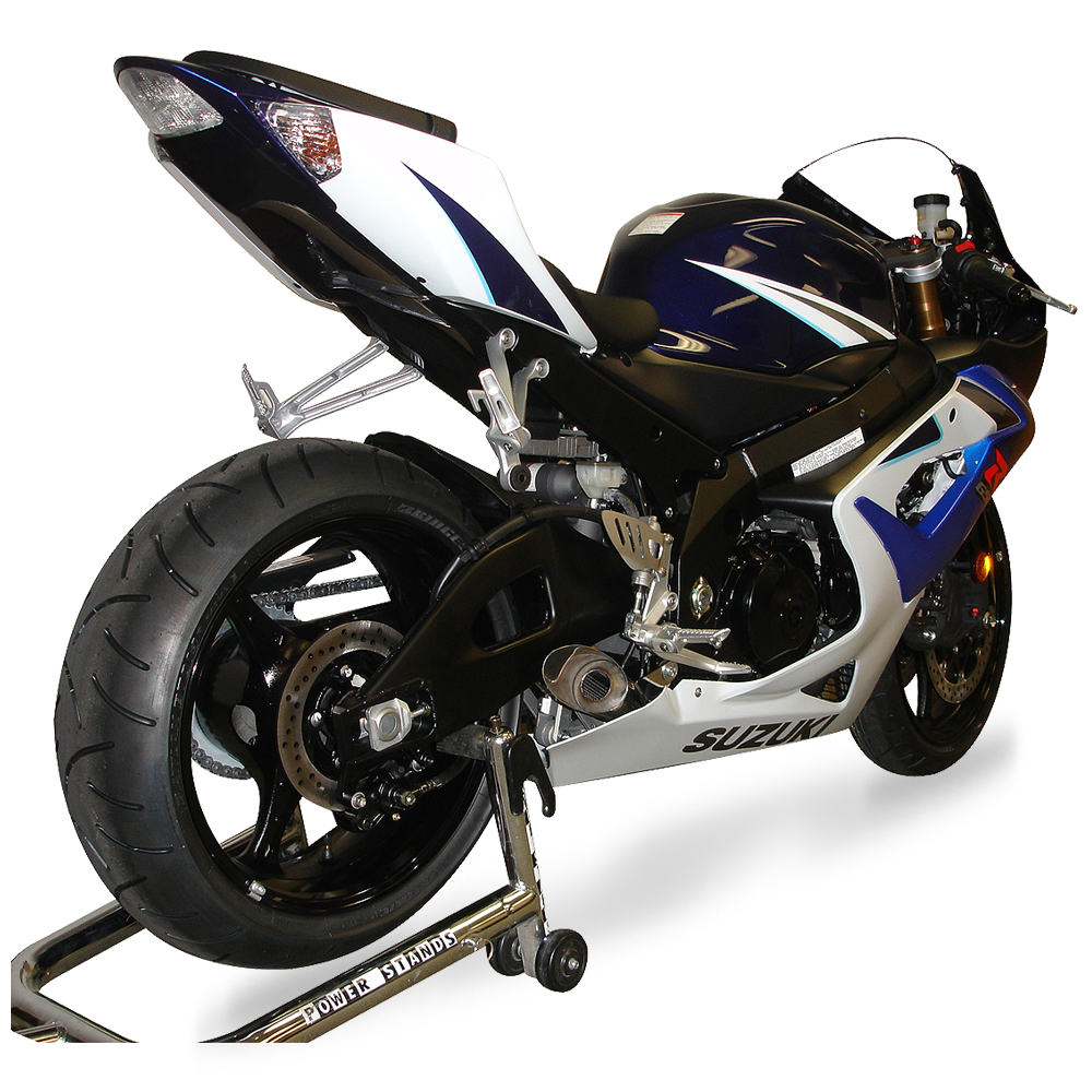 gsx r 1000 megaphone exhaust 2005 08 hot bodies racing. Black Bedroom Furniture Sets. Home Design Ideas
