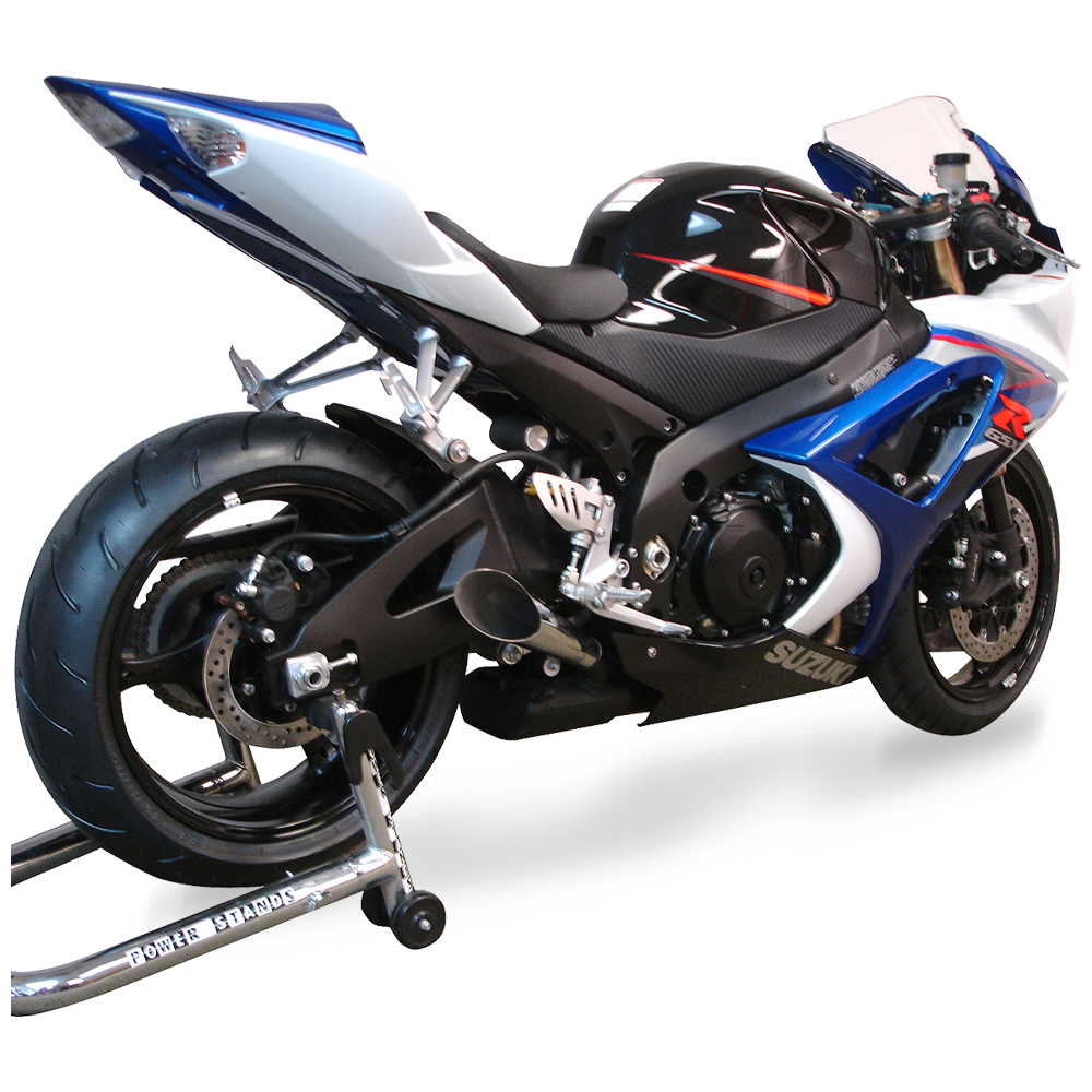 gsx r 1000 megaphone exhaust 2007 10 hot bodies racing. Black Bedroom Furniture Sets. Home Design Ideas