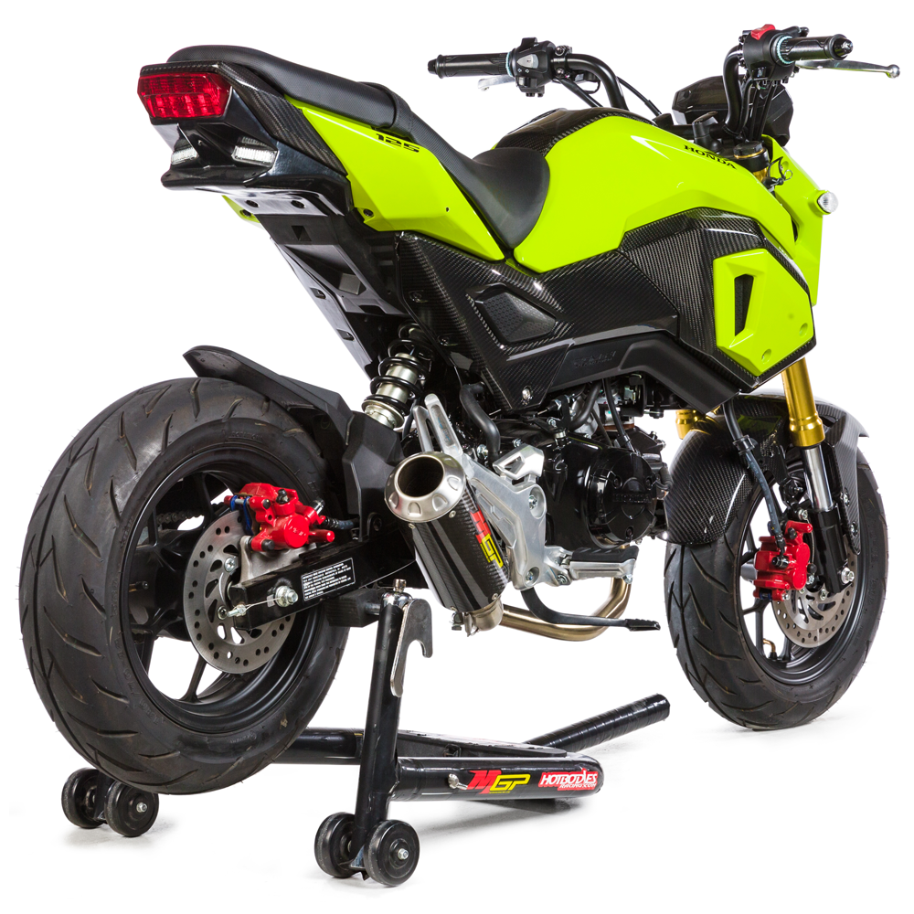 Grom MSX125 2017-19 MGP GROWLER Low-Mount Full-System Exhaust