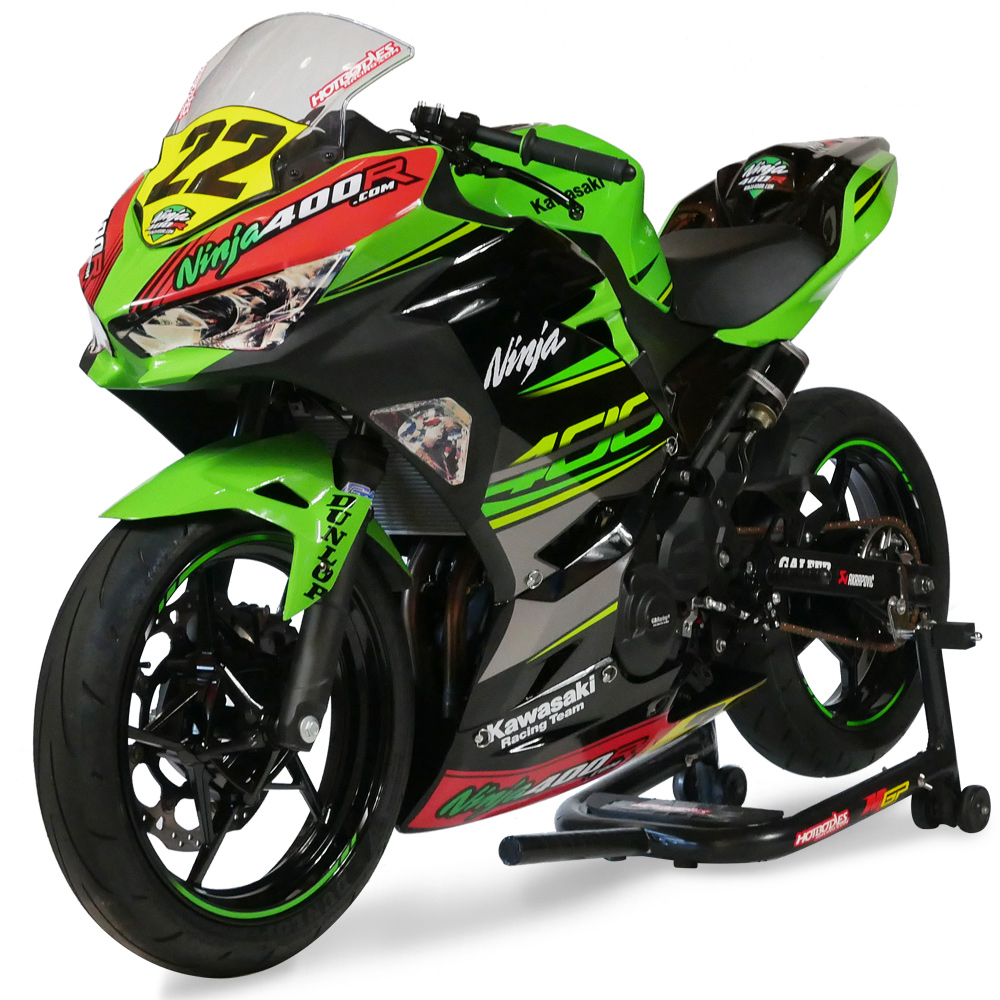 2018 Ninja 400 Race Motorcycle From Ninja400rcom