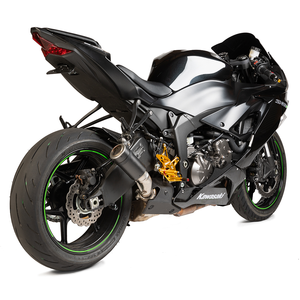New Zx6r 2009 19 Mgp Stinger Exhaust